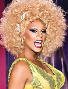 RuPaul is my hero! She always inspires me.