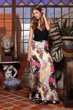 Ossira verano 2015. Faldas de moda 2015.