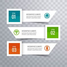 Modern infographic background Free Vector