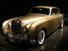 1958 Bentley Continental In a future I hope to have a vintage car one day for self satisfaction.