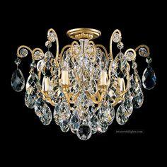 395009_Semi Flush Ceiling Lights_Zhongshan Sunwe Lighting Co.,Ltd. We specialize in making swarovski crystal chandeliers, swarovski crystal chandelier,swarovski crystal lighting, swarovski crystal lights,swarovski crystal lamps, swarovski lighting, swarovski chandeliers.