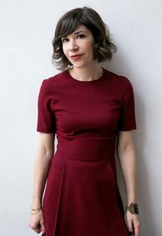 The author, Carrie Brownstein, writer and star of IFC's Portlandia.