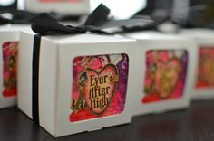 Ever After High Party Favor boxes - DIY