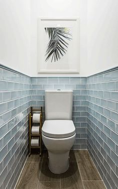 We& assembled a list of functional yet stylish bathroom tiles ideas to help inspire you. The post 7 Unique Bathroom Tiles Ideas (Show Your Personality!) appeared first on Dekoration. Bathroom Interior Design, Small Toilet Room, Bathroom Makeover, Stylish Bathroom, Small Bathroom, Toilet Design, Bathroom Tile Designs, Bathroom Flooring, Downstairs Bathroom