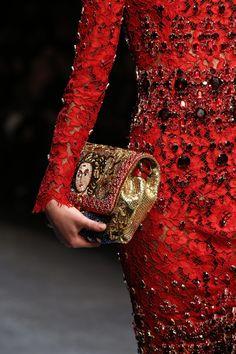Dolce & Gabbana Fall 2014..