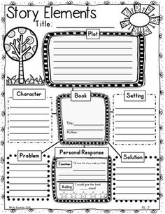 Graphic Organizers for Reading Literature Grades 3-5