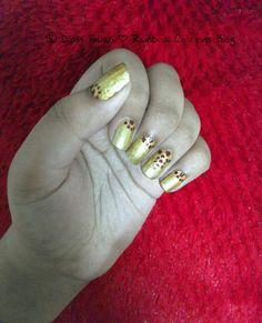 Easy Gold & Maroon NailArt! #Nails #Nail #Nailart #Nailarts #Easynailart #DIY #Mani #Manicure #Beauty #Fashion #Style #Swag #Love #Women #Girls #Fashionista #Blog #Blogger #Beautyblog #Beautyblogger #Fashionblog #indianblog #goldnails #maroon