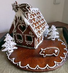Food Decoration, Christmas Time, Gingerbread, Sweet, Desserts, Deserts, Dessert, Postres, Food Deserts