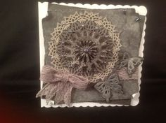 Tonic studios butterfly circle doily die set
