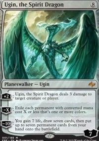 Ugin, the Spirit Dragon - Fate Reforged, Magic: the Gathering - Online Gaming Store for Cards, Miniatures, Singles, Packs & Booster Boxes