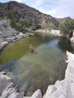 The Deep Creek Hot Springs-San Bernardino National Forest ...