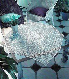 12stk Häkeldeckchen Spitzendeckchen Tischdecke Beige 100/% Handarbeit Baumwolle