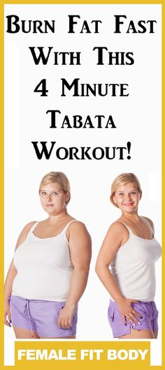 Tabata: The Exercise That Burns More Fat in 4 Minutes Than Exercising for 1 Hour