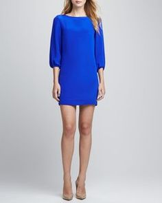 Amour Vert - Kim 3/4-Sleeve Shift Dress | Hukkster