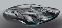 Buick Riviera Concept - Interior Design Sketch http://www.carbodydesign.com/gallery/2013/07/buick-riviera-concept-design-gallery-and-videos/