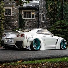 Living that LB life, tag someone who would love this  #nissan #gtr #godzilla #libertywalk