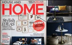 home-lust.com features in Irish interiors magazines and Irish design blogs Country Magazine, Irish Design, Interiors Magazine, Design Blogs, House Inside, Lust, Magazines, Gallery Wall, Wall Decor