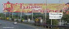 Werbung an den Strassen von Thailand Thailand, Fair Grounds, Advertising, Taekook