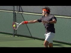 Roger Federer Forehand in Super Slow Motion - Indian Wells 2013 (+playlist)