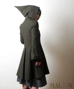 goblin hood, witch's coat?  :)  @Darla Sherwood Catalano