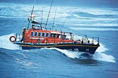 We are getting a new lifeboat, this is the current one