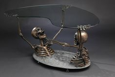 overheal: asylum-art-2: Skeleton Coffee Table... | All that i want....