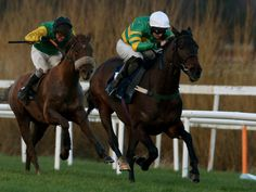 The valuable handicap hurdle at Leopardstown went to Enda Bolger's Gilgamboa