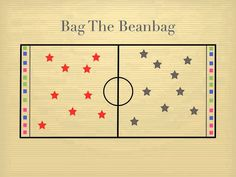 Physical Education Games - Bag The Beanbag