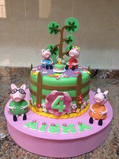 Peppa Pig tarta.