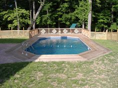 #SemiIngroundPools  The most versatile pool on the market, an extruded aluminum pool allows consumers to achieve inground style with an #abovegroundpool at an above ground price. Read more..  http://www.westrockpools.com/semi-in-ground-pools/
