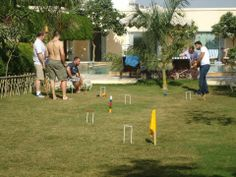 The game of Croquet has been enjoyed by the Royals for centuries...be a part of this great tradition at Royal Heritage Haveli Jaipur!