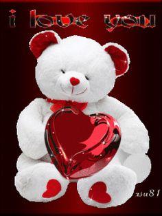 i love you mom Ilove you! Love Heart Images, I Love You Pictures, Love You Gif, Cute Love Gif, I Love You Mom, Beautiful Love, My Love, Teddy Bear Images, Teddy Bear Pictures