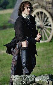 "Jamie Fraser (Sam Heughan) in Episode 209 ""Je Suis Prest"" of Outlander Season Two Sam Heughan Outlander, Outlander Season 2, Outlander Book Series, Outlander Gifs, Outlander 2016, Claire Fraser, Jamie Fraser, Scottish Warrior, Scottish Man"