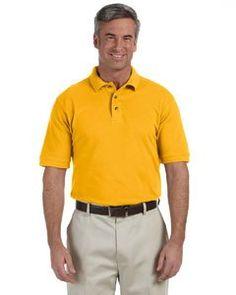 46dfe699 Golf Fashion - Harriton 6 Oz. Ringspun Cotton Pique Short-Sleeve Polo. Click