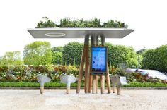 green WIFI bus stations