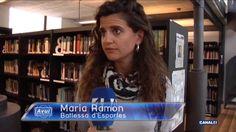 + A fons - 29/04/2016 - Reportatge a Canal 4 TV Biblioteca d'Esporles