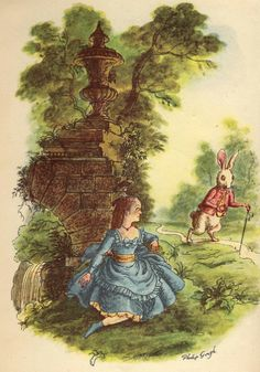 Alice in Wonderland_By Philip Gough . 1949 . Published by Heirloom ...