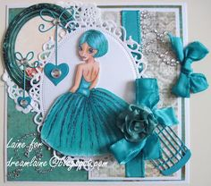 Dream Laine: Monochrome Challenge for Paper Crafting Journey