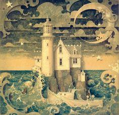 """""""The Light House"""", Daniel Merriam, danielmerriam.com"""