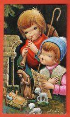 postal  navideña - ilust. peralta - año 1968