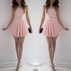 Lisa Dress - Blush