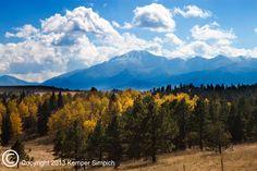 Pikes Peak.  Fine Art Photography by Kemper Simpich, Colorado Springs.