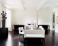 Modern Dining Room by Piet Boon and William O'Neill in New York, New York