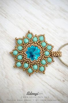 TUTORIAL of the double petal flower pendant phase by BelugaBeads, $5.99