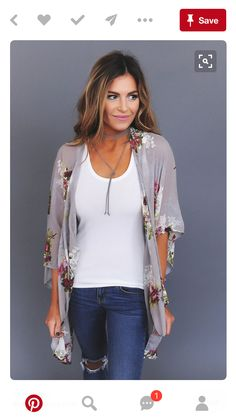 What a beautiful kimono! Would love this in almost any color.