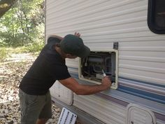 Make Your RV Fridge Run Better With This Easy Mod With a few inexpensive items and a little wrench time, you can complete this job to make your RV refrigerator run cool and efficient no matter how hot it gets. Rv Camping Tips, Camping Items, Outdoor Camping, Camping Stuff, Camping List, Camping Products, Camping Outdoors, Backpacking Meals, Motorhome