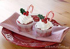 Kerstmis Cupcakes