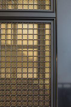 Wire Mesh, Metal Mesh, Door Design, Wall Design, Facade Pattern, Factory Architecture, Divider Screen, Partition Design, Metal Screen
