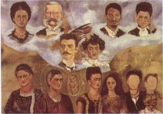 Портрет семьи Фриды - Фрида Кало