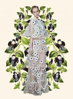 Botanical Resort by Erica in Art, Collections #Fendi.